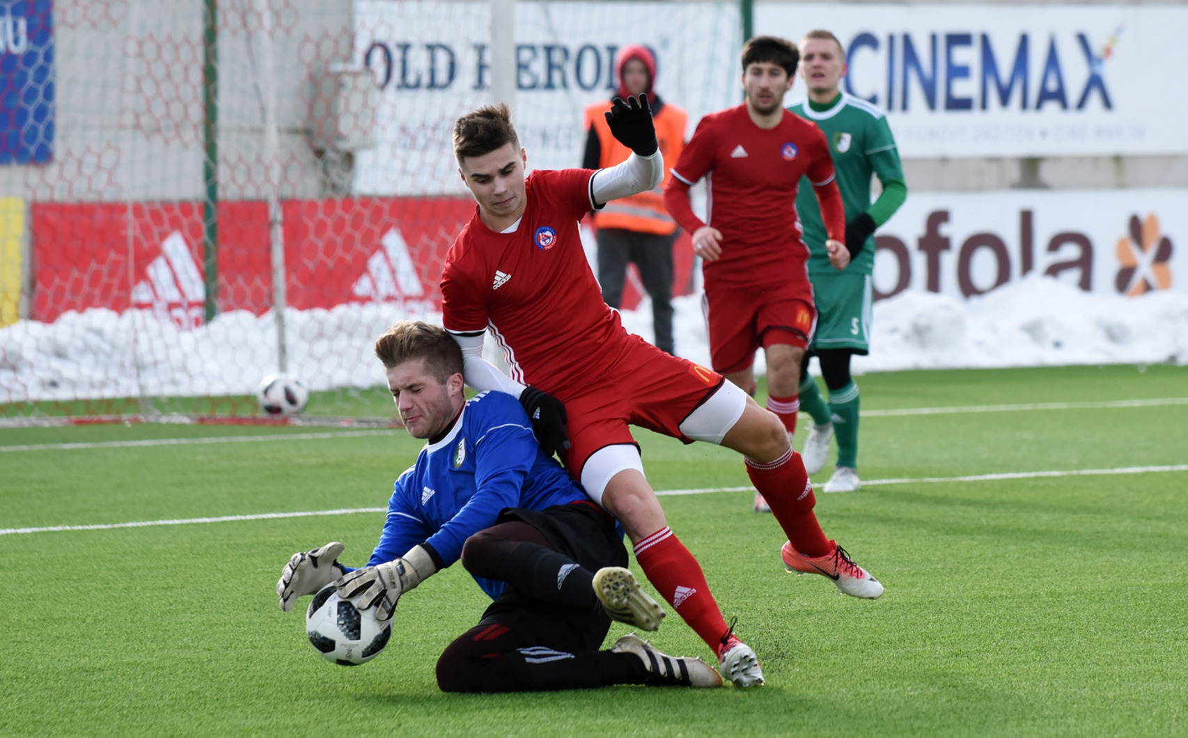 High victory over second leagued Nové Mesto